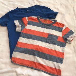 H&M cotton boys T-shirts size 4-6